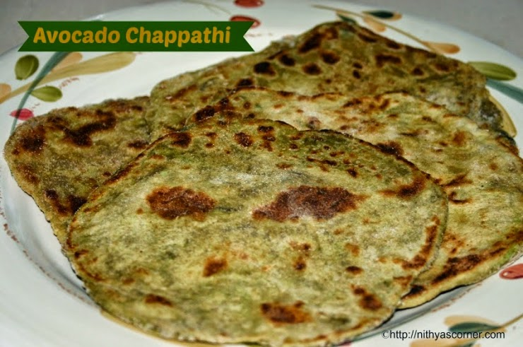 How to make Avocado Chappathi