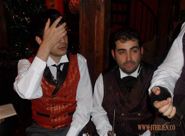 Fotos de las Jornadas Steampunk y Neovictorianas (2, 3 y 4 de diciembre de 2011) Siete