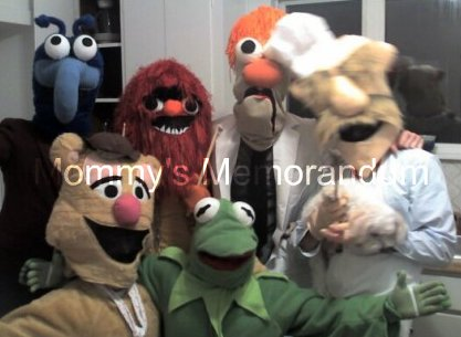 The MUPPETS costumes