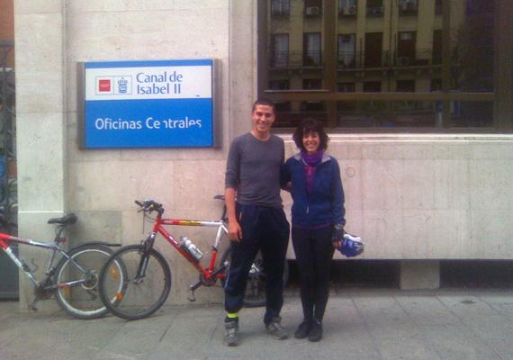 BiciFinde desde el Barrio Lucero a Atocha y Santa Engracia, sábado 21 de abril