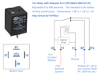 12 V Relay Wiring Diagram