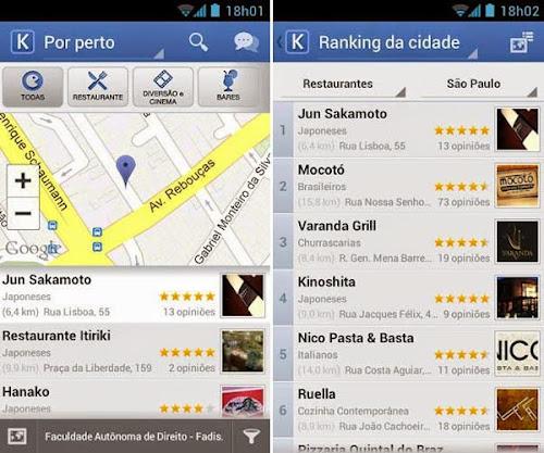 kekanto Os 6 melhores aplicativos para Android e iPhone