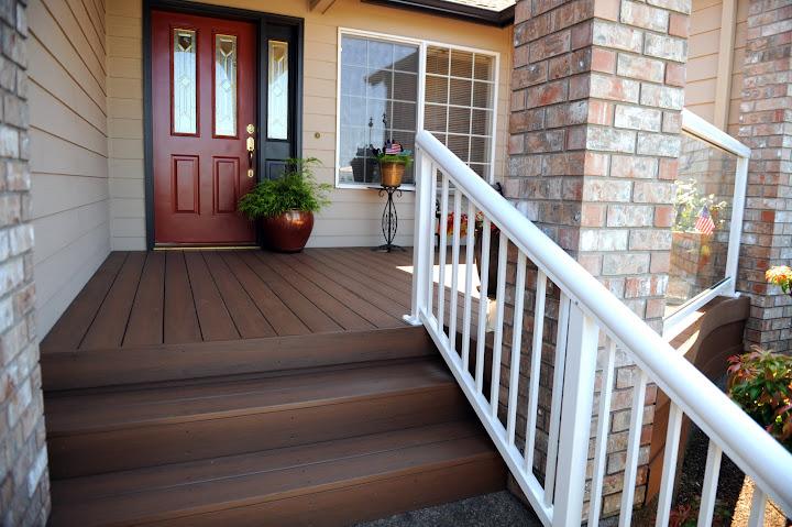 pvc front deck