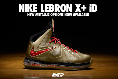 nike lebron 10 id options preview 8 01 Volt, Metallic Pewter and a Chance to Design Your Own Championship LeBron Xs