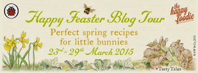 Happy Feaster Blog Tour, rabbit cupcakes #tastytales