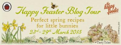Happy Feaster Blog Tour, rabbit cupcakes #tastytales