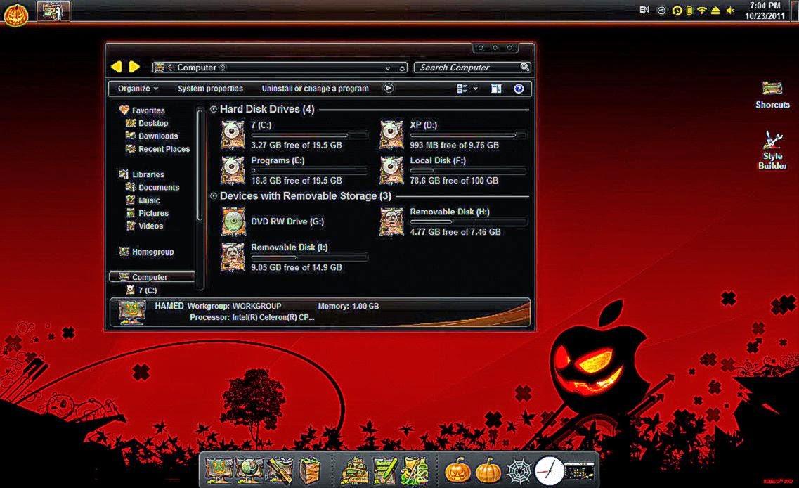 Great Wallpaper Halloween Windows 7 - haloween-skin-pack-readies-windows-7-for-halloween-ghacks-tech-news  Snapshot_381134.jpg