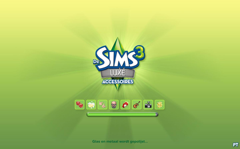De Sims 3 Luxe Accessoires laadscherm