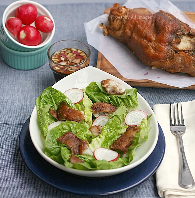 Crispy Pata Salad