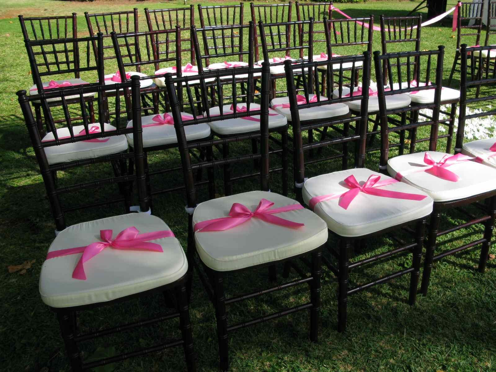 HARMONY OF LIFE Wedding Chair Accessories