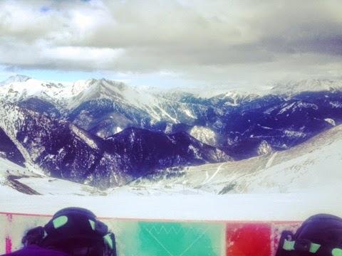 No topo da montanha