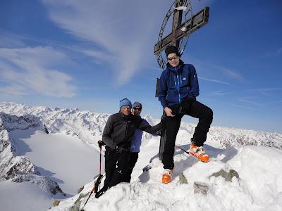 Gipfel Ruderhofspitze 3.474m