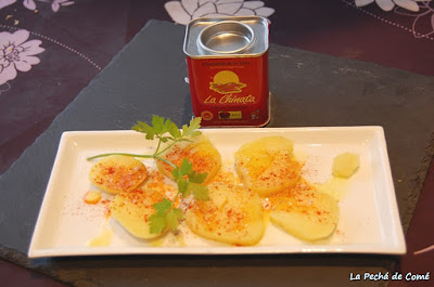 Patatas al Varoma con pimentón dulce
