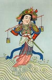 Goddess Shui Mu Niang Niang Image