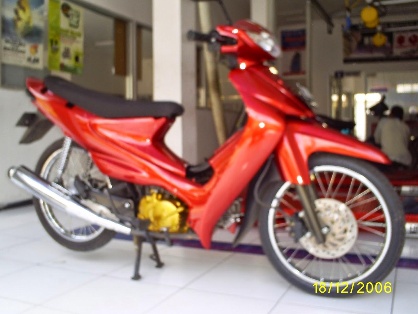Modifikasi Suzuki Shogun Axelo 125