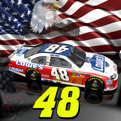Wallpapers By Wicked Shadows: Jimmie Johnson NASCAR Unites
