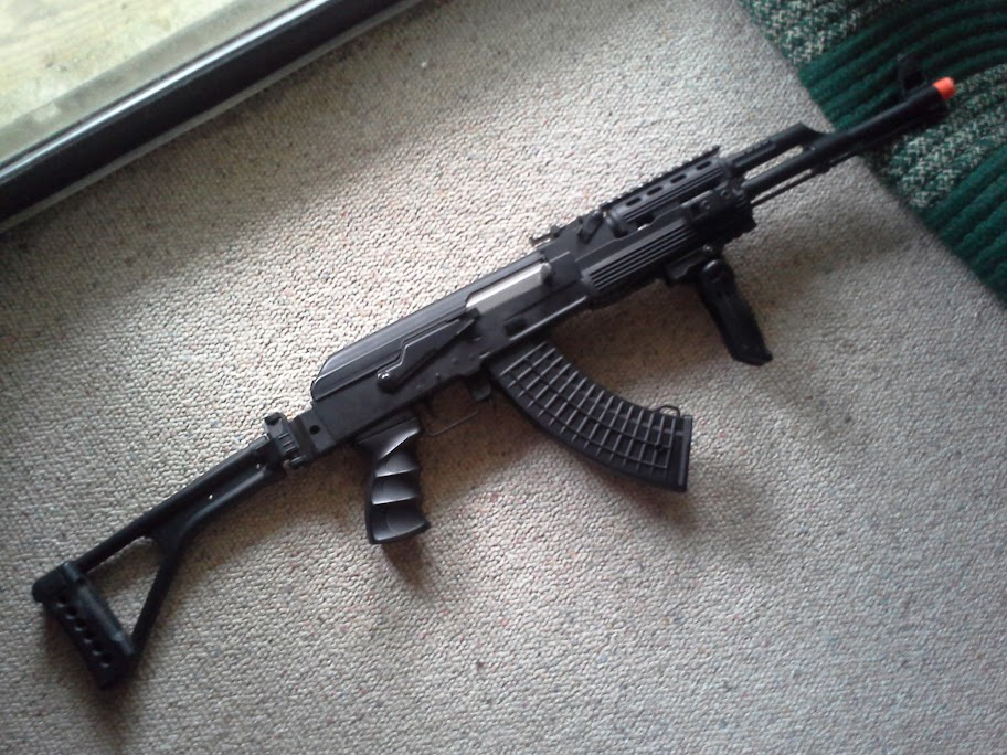 WTS: Kalashnikov Tactical AK47 by Cybergun and Misc. Gear. 20130811_083440