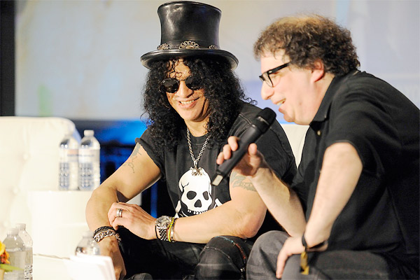 Celebrity Interview with Slash( 2012 Slacker Canadian Music Week)Photo: Slacker Canadian Music Week