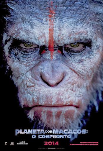 Planeta dos Macacos - O Confronto 720p Legendado – Torrent WEB-DL x264 (2014) + Legenda