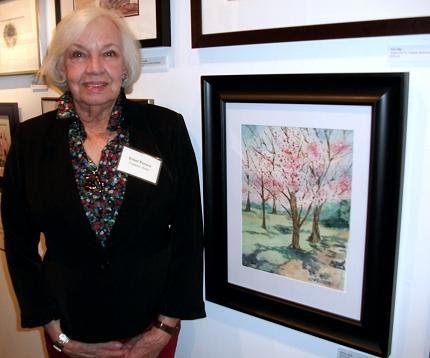 Artist Ethel M. Ferrett