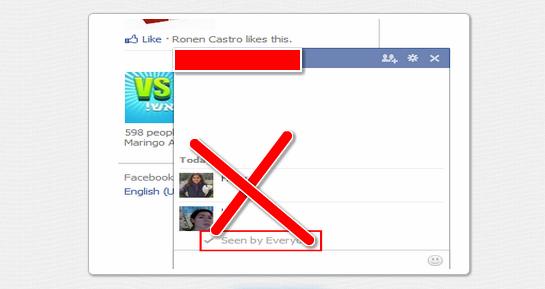"""Cómo eliminar el """"Visto"""" en el chat de Facebook"""