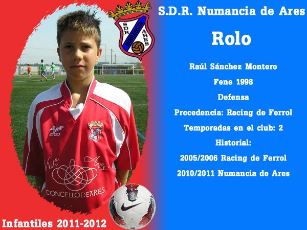 ADR Numancia de Ares. Infantís 2011-2012. ROLO.
