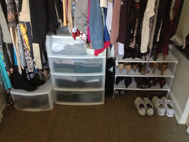 Next I Have A Drawer Tower, As I Will Call It. Currently It Has 4 Drawers;  The Last Place We Lived I Had It 6 High Because I Had A Walk In Closet ...