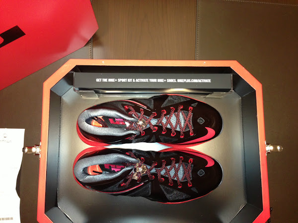 Limited Edition of Nike LeBron X Pressure in Special Packaging
