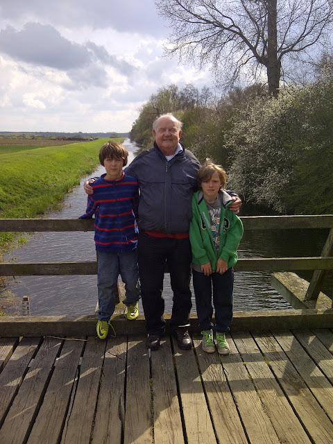 Harry, Bob and Jude at Woodwalton Fen