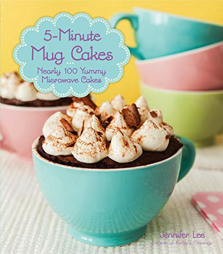 5-Minute Mug Cakes Book cover photo