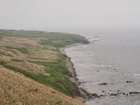 天売島の風景 白浜海岸