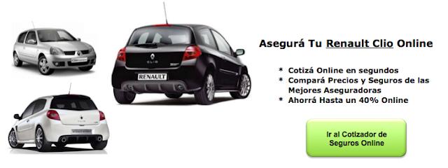 Seguros de Auto para Renault Clio