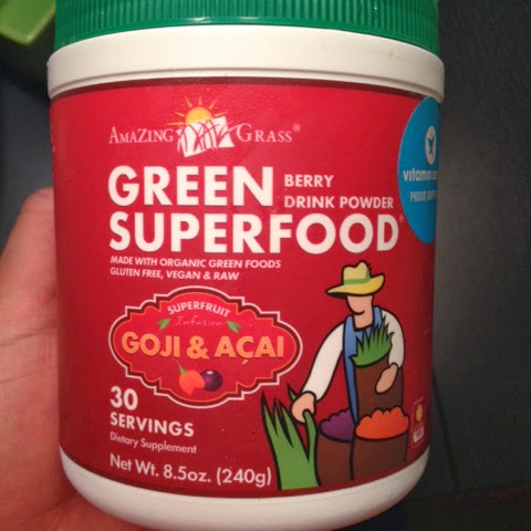 Green Superfood Supplement Amazing Grass Goji Amp Acai