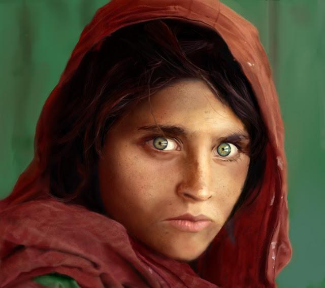 Fotografías para la historia (7):  La niña afgana