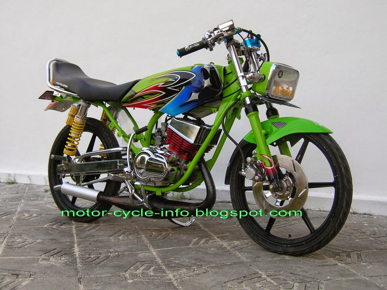 Cara Modif Motor Yamaha Crypton