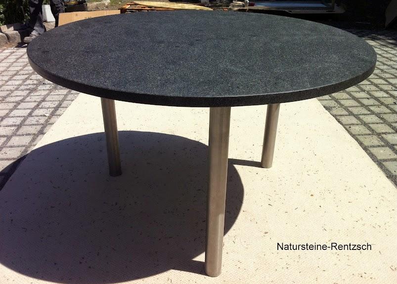 gartentisch runder tisch esstisch k chentisch d120 platte. Black Bedroom Furniture Sets. Home Design Ideas