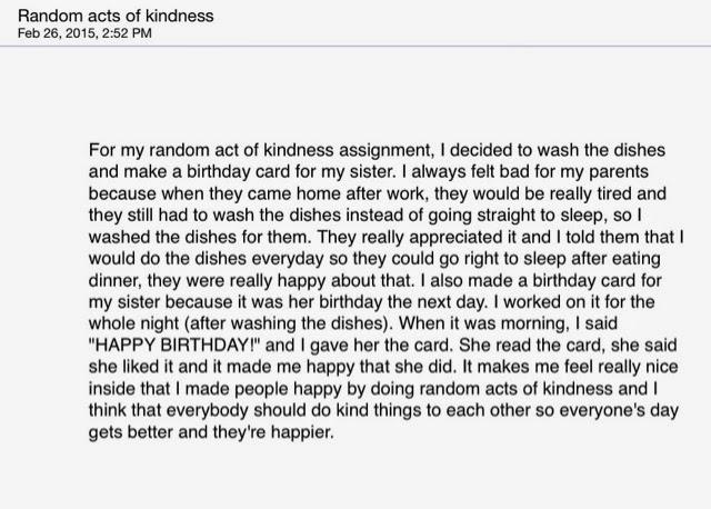 Essay kindness is a great virtue