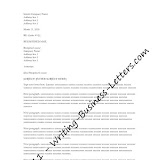 Business letter format what to include and when layout in a business letter format altavistaventures Images