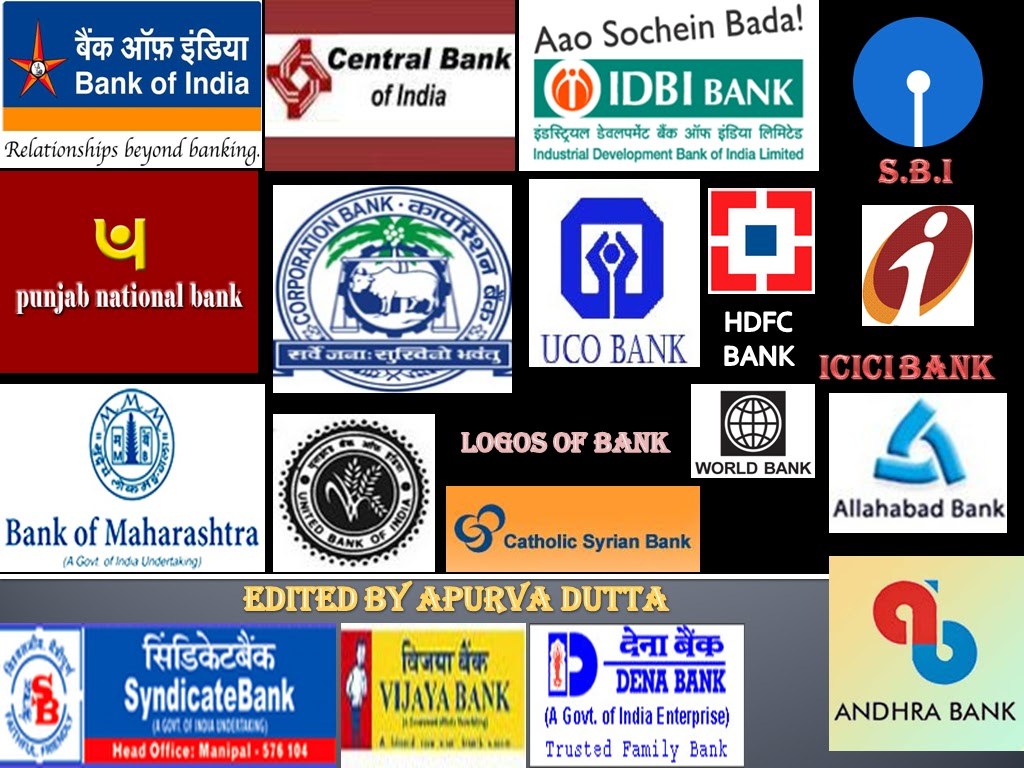 apurva duttas page logos of various banks