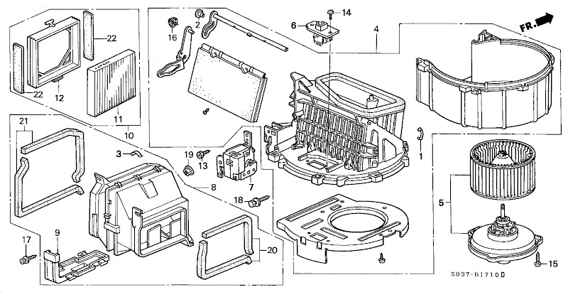 Honda Odyssey Interior Parts Diagram Brokeasshome Com