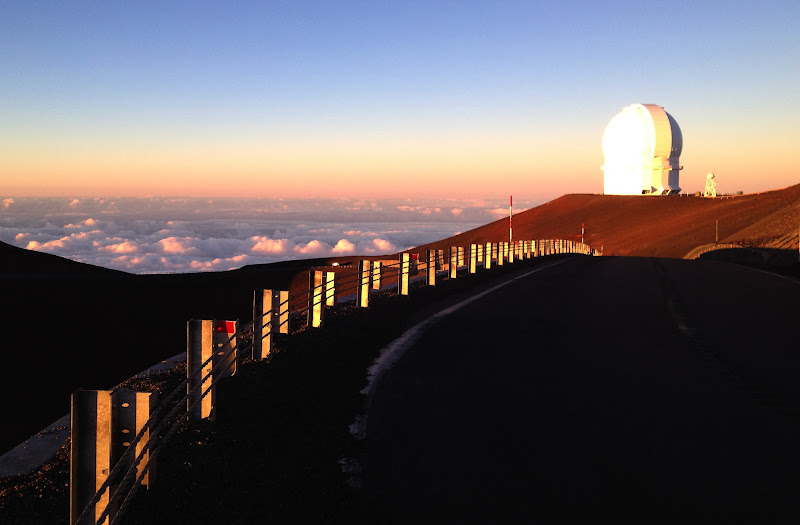 Mauna Kea observatory, Big Island, Hawaii