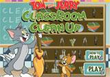 Tom n Jerry Classroom Clean Up Game