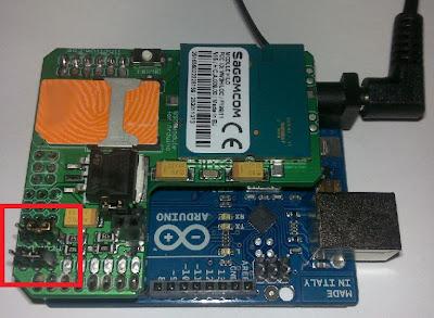 Considereciones importantes a tener en cuenta antes de enviar el programa a Arduino para usar el módulo GPRS