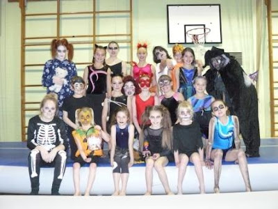 Zombie Gymnast Halloween Costume.Halloween Tumbling Camp 2012 Woburn Sands Gymnastics