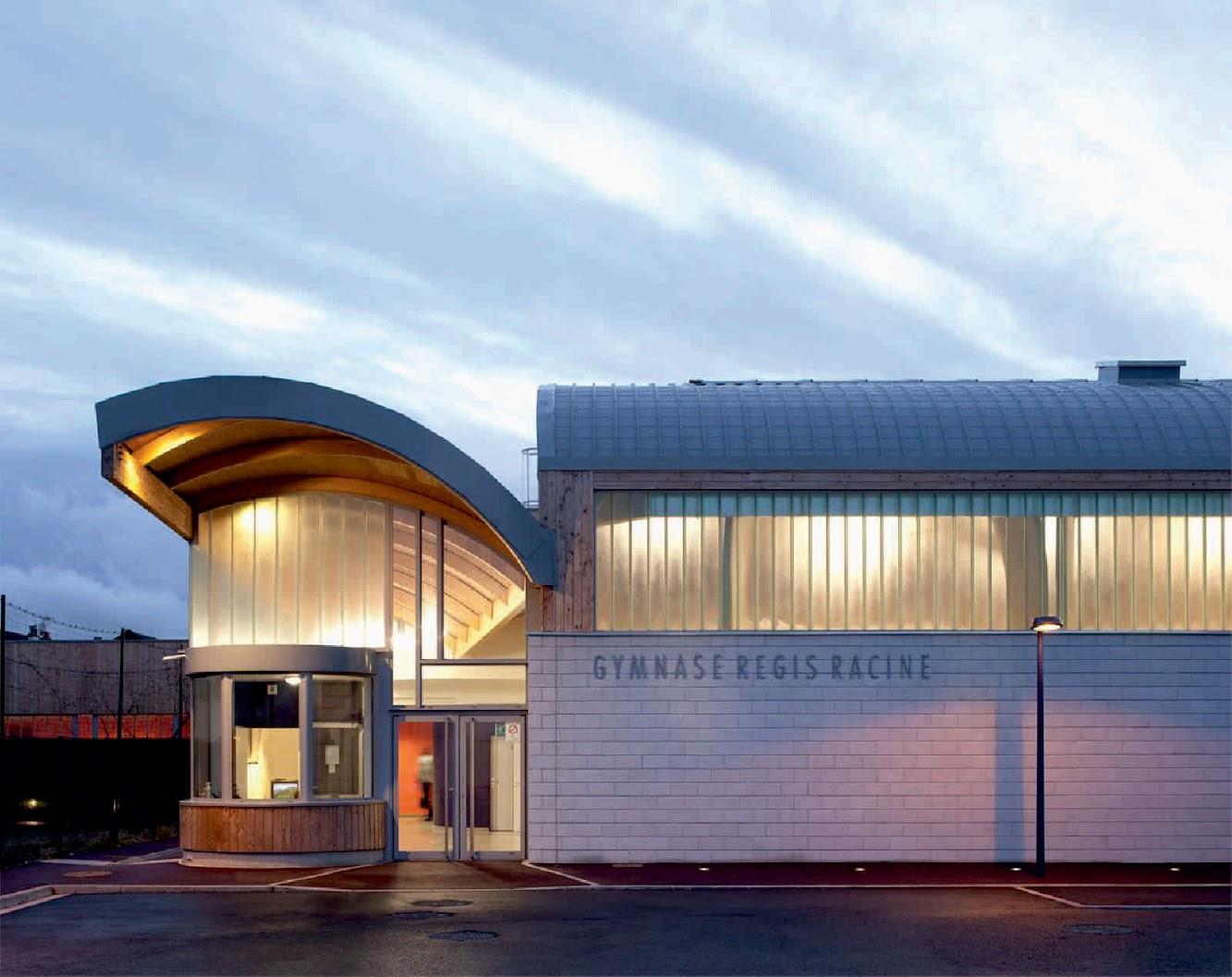 Atelier D Architecture Alexandre Dreyssé drancy, francia: gymnasium rÉgis racineatelier d