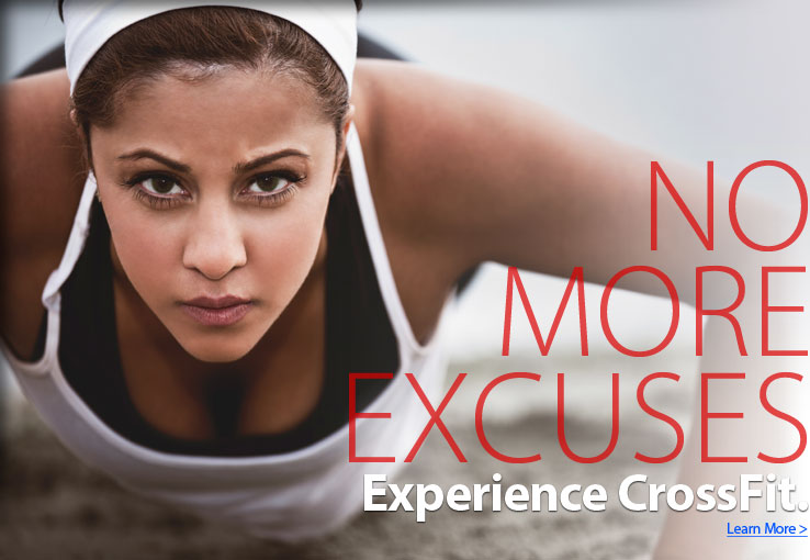 CrossFit No More Excuses
