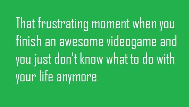 That Frustrating Moment..