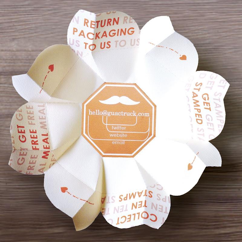 Origami Food Box Food