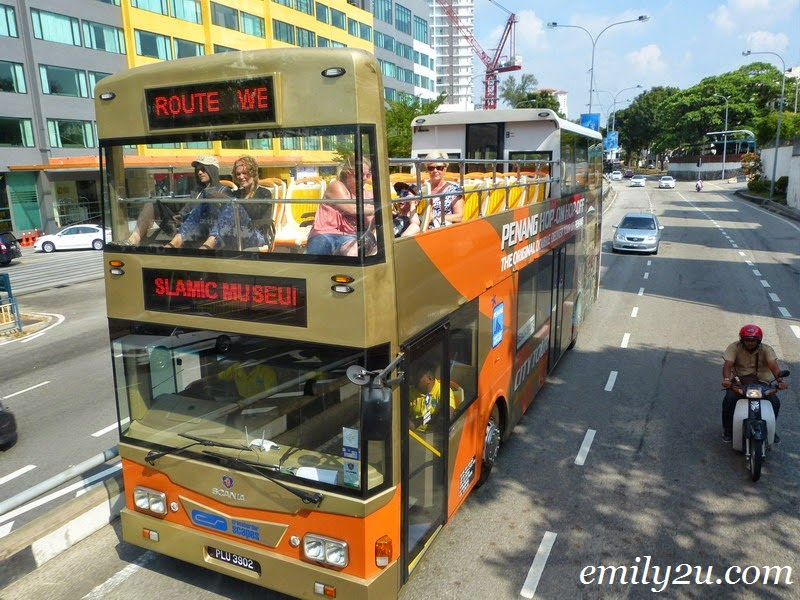 Penang Hop-On Hop-Off Bus Services