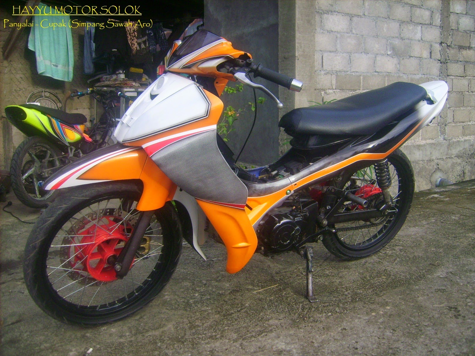 Vega R New Modifikasi Drag